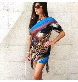 Amazon Print Kiara Dress