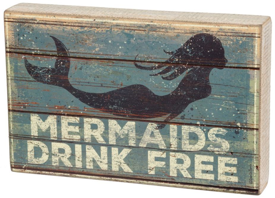 Mermaids Drink Free LG