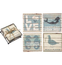 Beach Stone Coasters