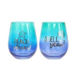 Ombre Wine Glass