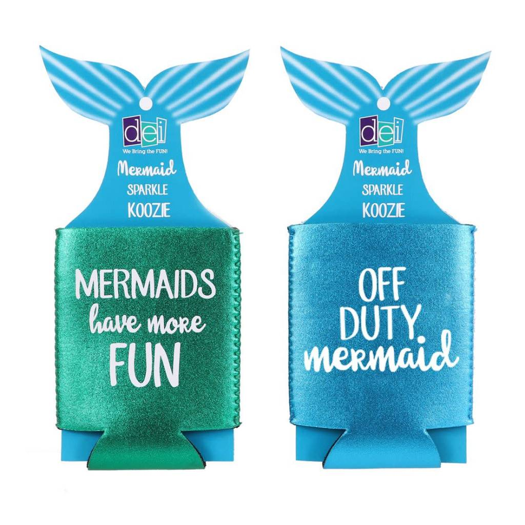 Glitter Mermaid Koozie
