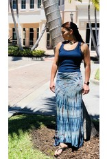 Atlantic Tie-Dye Maxi Skirt