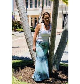 Pacific Tie-Dye Maxi Skirt