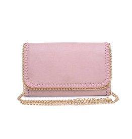 Ballet Pink Felicity Chain Clutch
