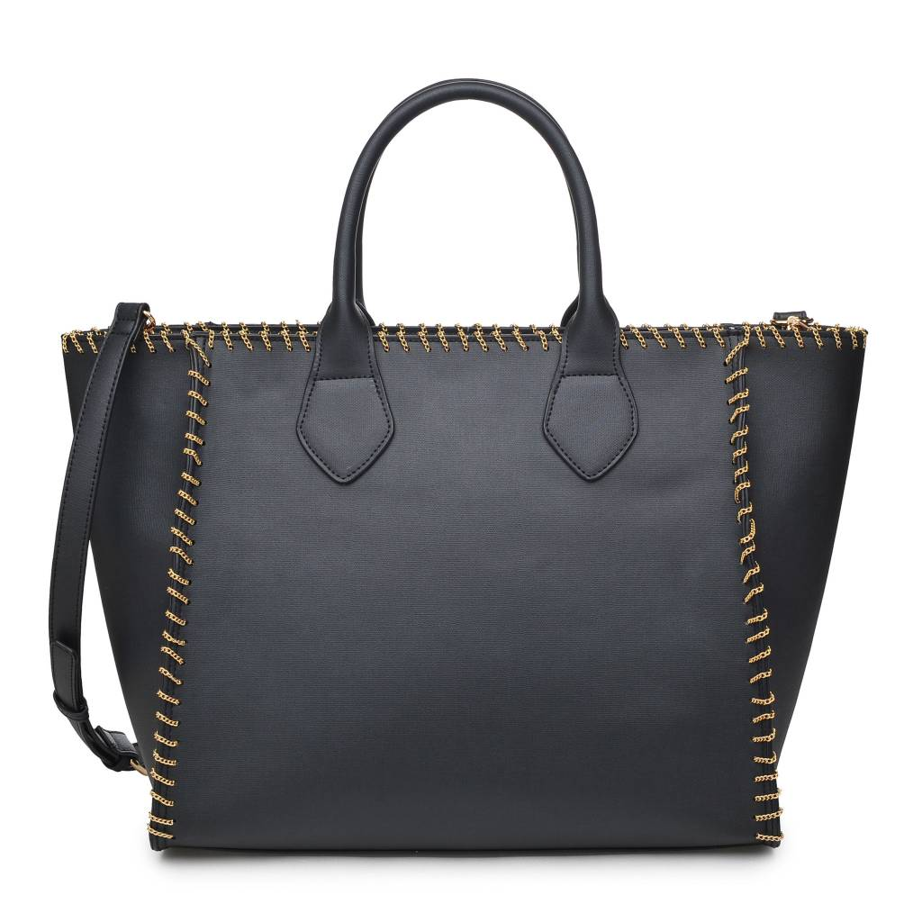 Black Lyra Handbag
