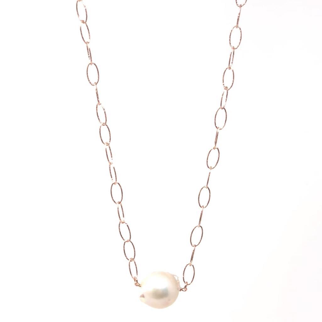 Baroque on RG Diamond Cut Chain