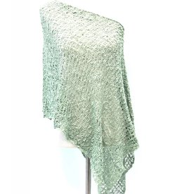 Popcorn Poncho Antique Sage
