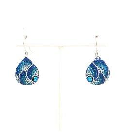 Mosaic Wide TD Earrings
