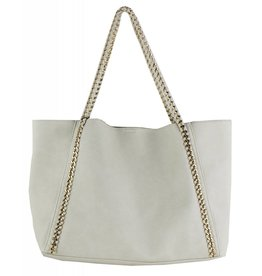 Ivory Chain Tote