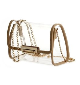 Clear/Nude Clutch