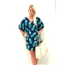 Aegean Blue/Turq. Trop Lucia Dress