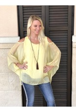 Lemon Silk C/S Top