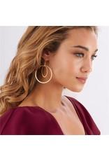 Double Circle Earrings