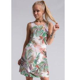Fashionomics Tropical Leaf Shift Dress