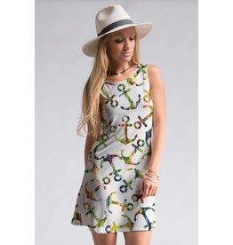 Fashionomics Anchor Shift Dress