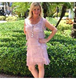 Rose Flutter Dress