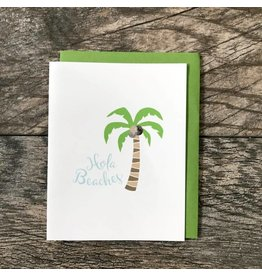 Seaside Designs Hola Beaches Card