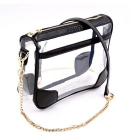 Policy Handbags Black Lizzard Drake