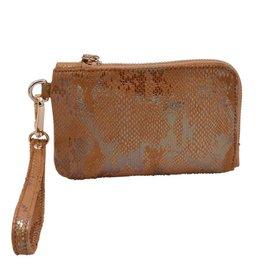 Policy Handbags Bronzer Roo Wristlet