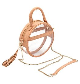 Policy Handbags Blonde Scales Halo Roundie
