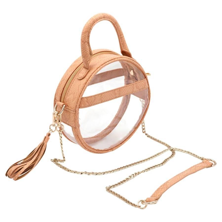 Policy Handbags Blonde Scales Halo Roundie