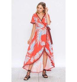 Firecracker Wrap Dress