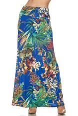 Royal Tropics Maxi Skirt