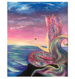 Mermaid Rose' Paint Party