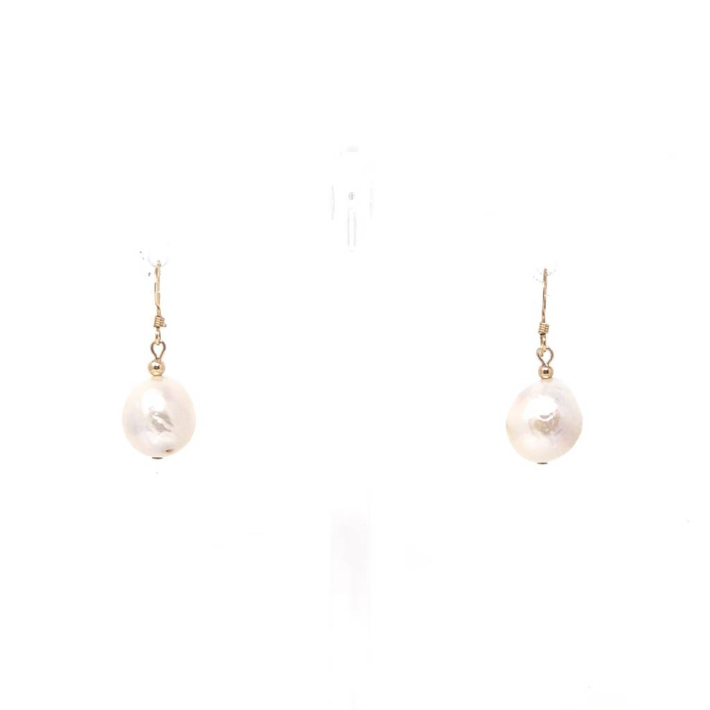 Baroque Pearl Gf French Hook Earrings