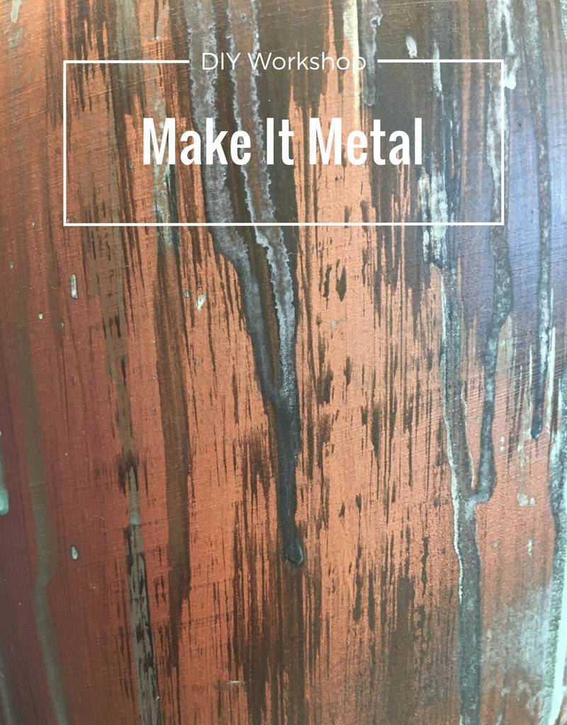 Painting: Make it Metal-Tuesday, July 25th 7-8:30pm