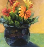 Painting: Intro to Oil/Gerber Daisies Thursday, June 8th & June 15th