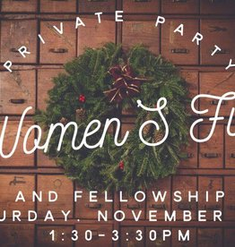 Private Party: Women's Fun and Fellowship