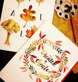 Brush Lettering for The Holidays: Saturday, November 11th 11am-1pm.