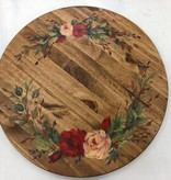 Painting: Hand Painted Lazy Susan; Thursday, December 14th 5-7pm