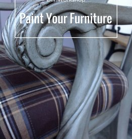 Painting: Bring Your Own Furniture Class/ Saturday, December 16th 10:30am-1:30pm