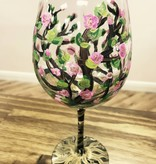 Wine Glass Painting (Group Workshop)