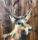 Painting: Reindeer on Wooden Pallet/ Thursday, December 7th 5pm-6:30pm