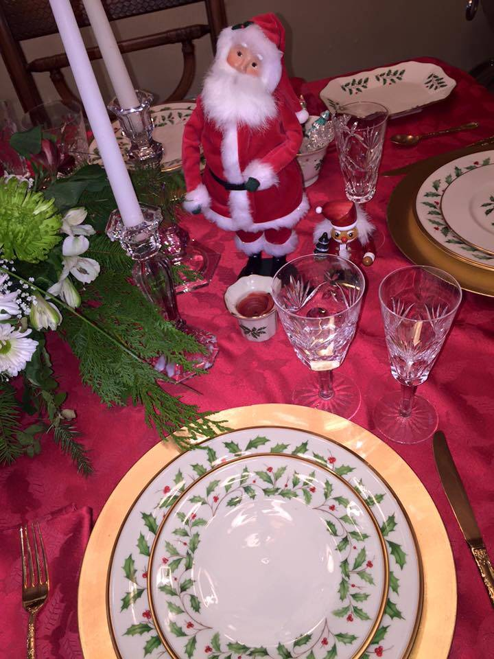 Holiday Tablescapes: Watch and Learn/ Dec. 12th 1-2pm