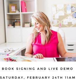 Krystal Whitten Book Signing and Live Demo