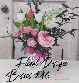 Floral Design: Basics (Group Party)