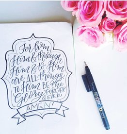 Handlettering with Krystal Whitten: Tuesday, March 6th 7-9pm