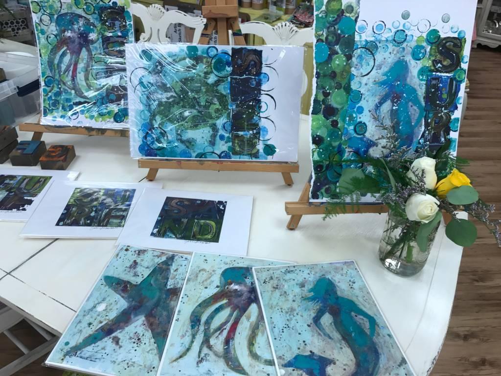 Art Camp:Under the Sea: June 11th- June14th