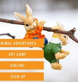 Animal Art Camp: Sibling  # 3 Sign Up.