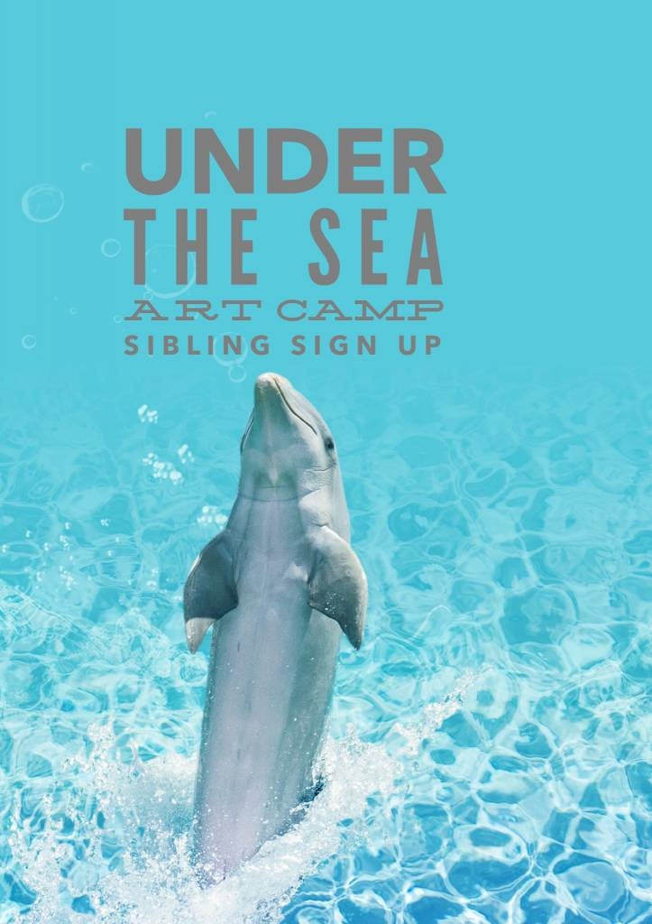 Under The Sea Art Camp: Sibling #3 Sign Up