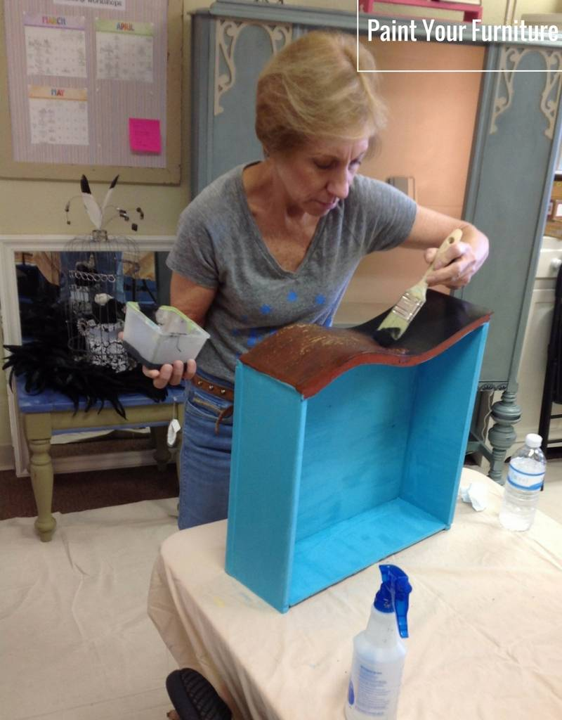 Intro. to Furniture Painting: Saturday, April 21st. 11am -12:30pm
