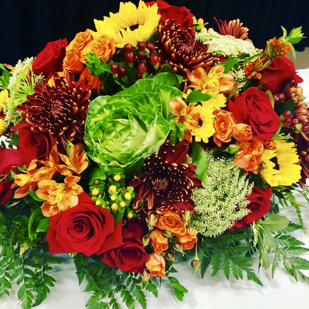 Floral Design: Thanksgiving Centerpiece, Tuesday November 20th 7-8:30pm