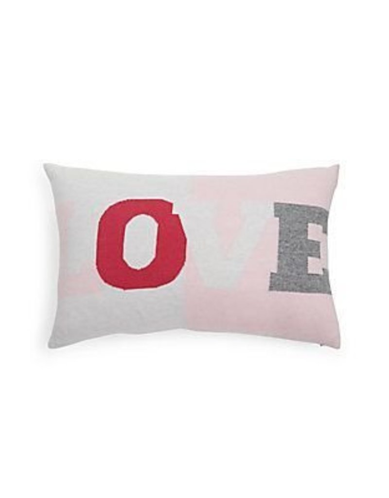 Rani Arabella Love Cashmere Pillow - Pink