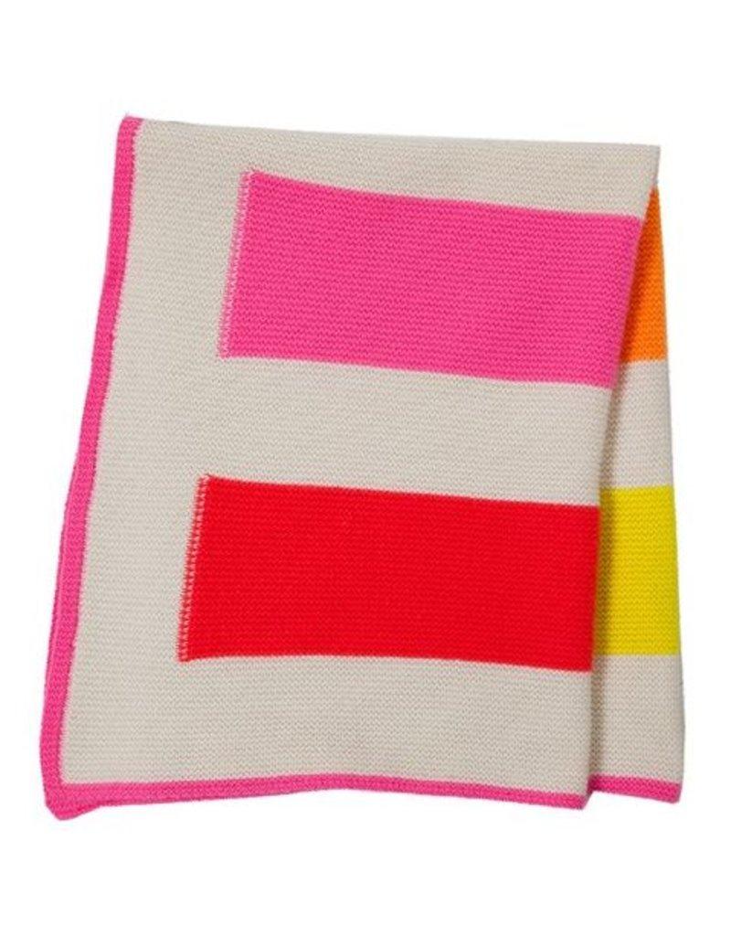 Rani Arabella Yoyo Cashmere Stripes Baby Blanket