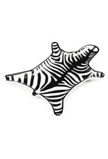 Jonathan Adler Zebra Stacking Dish - Black/White