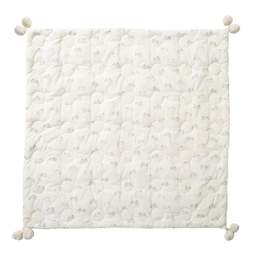 Pehr Designs Quilted Pom Pom Blanket